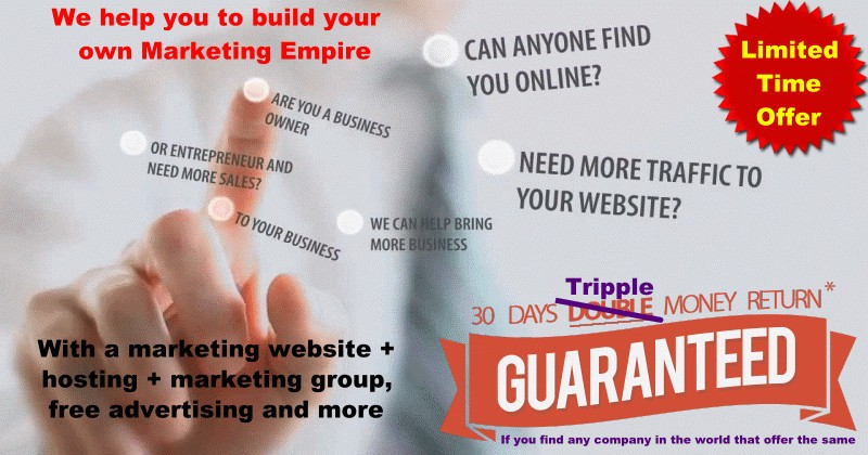 Internet Marketing Special Offer