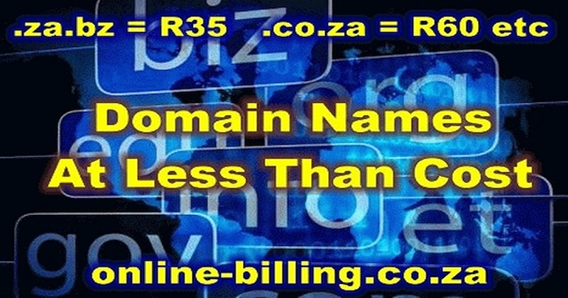 Domain Names At Less Than Cost